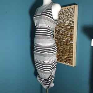 Converse Stripped cotton dress